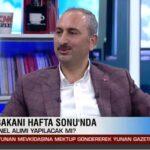Adalet Bakanı Abdulhamit Gül'den yeni personel alımı açıklaması